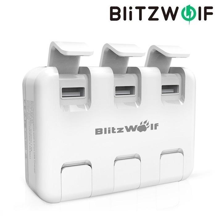 Зарядное устройство BlitzWolf BW-BS4 50W 6 USB