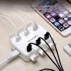 Зарядное устройство BlitzWolf BW-BS4 50W 6 USB  - фото #5