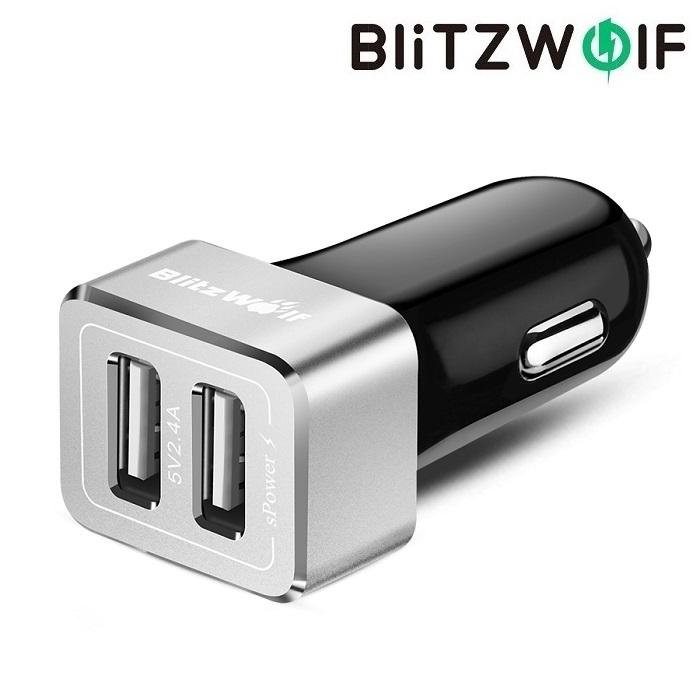 Автомобильная зарядка BlitzWolf BW-C4 24W 4.8 A