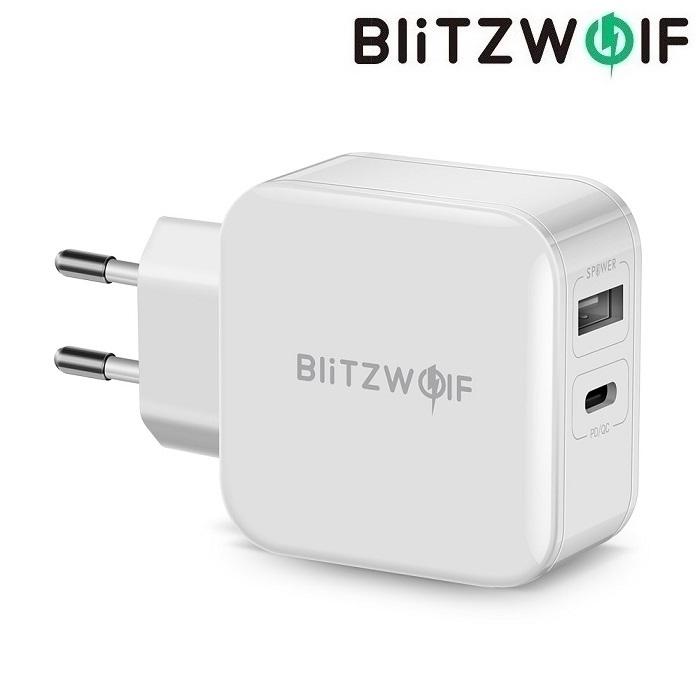 Зарядное устройство BlitzWolf BW-S11 30W USB + type-C