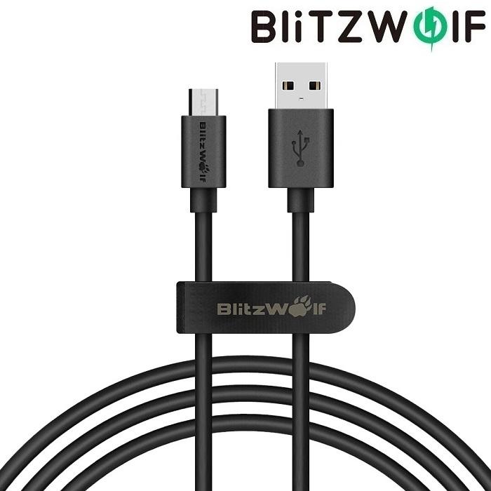 Кабель BlitzWolf USB microUSB BW-CB 7 1 м