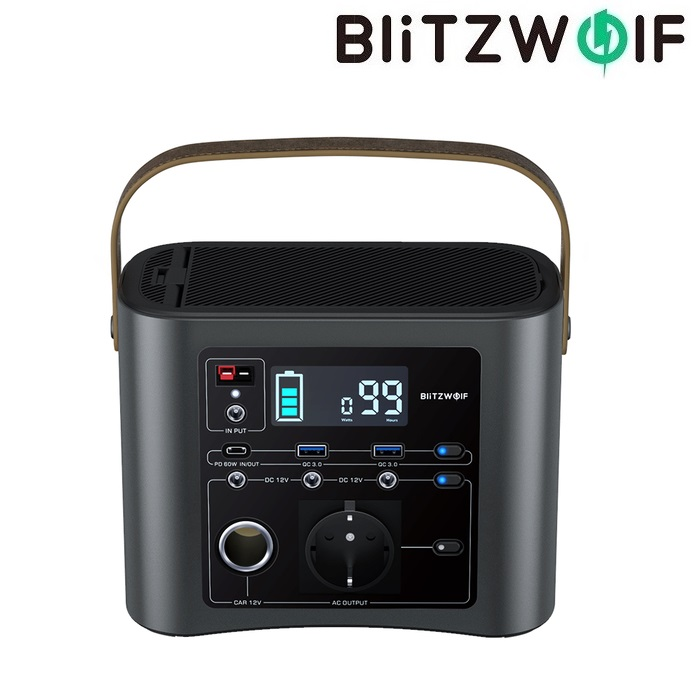 Портативная электростанция BlitzWolf BW-PG8 333Wh (90000 mah)