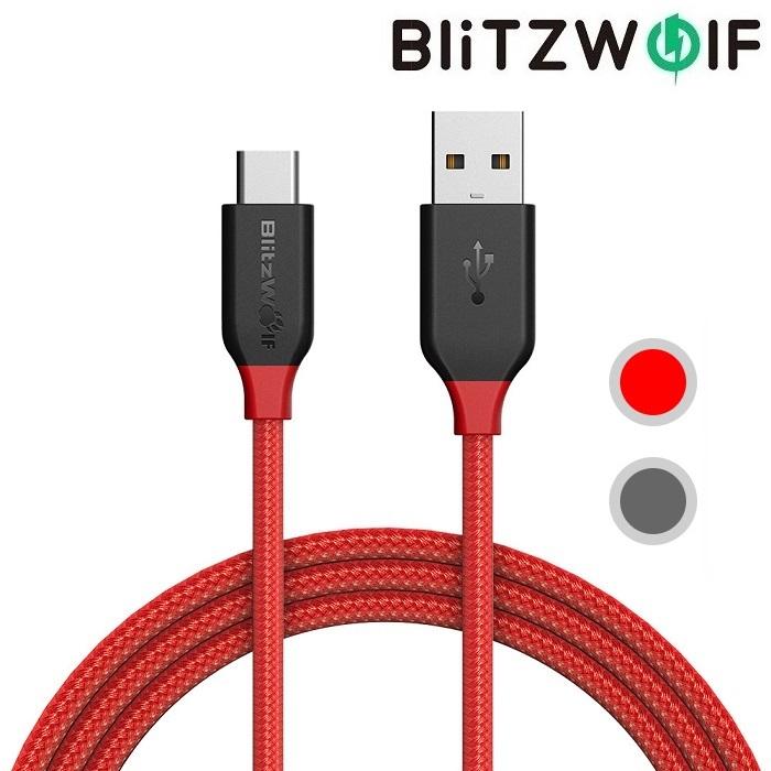 Кабель BlitzWolf USB Type-C BW-TC5 1 м