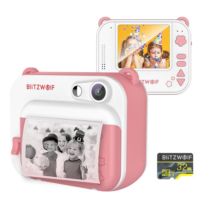 Детская камера с мгновенной печатью BlitzWolf BW-DP1