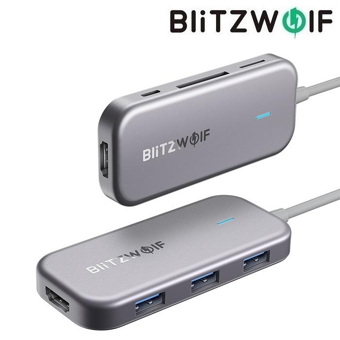 USB hub BlitzWolf BW-TH5 7 в 1