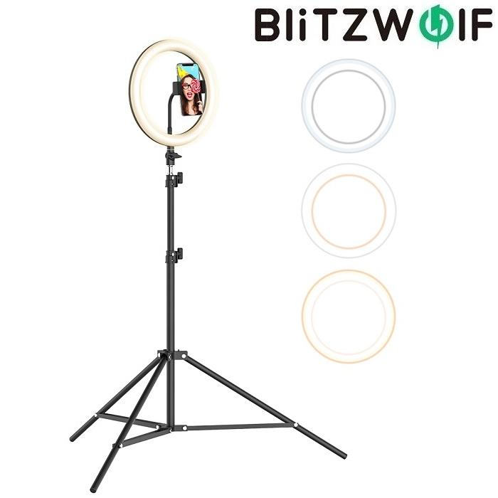 Набор кольцевого LED света BlitzWolf BW-SL2