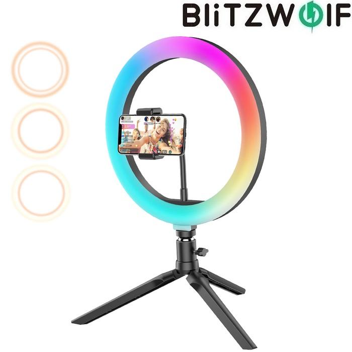 Кольцевой LED свет BlitzWolf BW-SL5