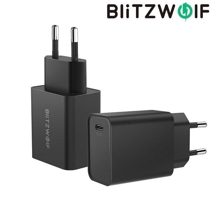Зарядное устройство BlitzWolf BW-S12 27W Type-C QC4+ PD