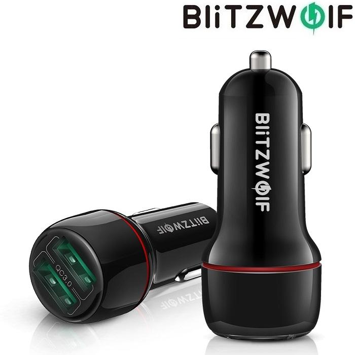 Автомобильная зарядка BlitzWolf BW-SD5 18W QC 3.0